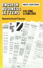 Cover of: English Business Letters