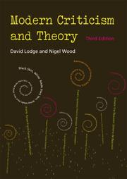 Cover of: Modern Criticism and Theory (3rd Edition)