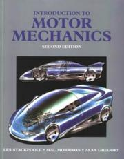 Cover of: Introduction to Motor Mechanics