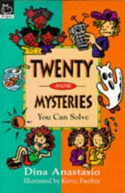 Cover of: Twenty Mini Mysteries You Can Solve (Puzzle Books)