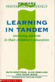 Cover of: Learning in Tandem (Primary Professional Bookshelf S.)