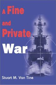 Cover of: A Fine and Private War