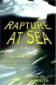 Cover of: Rapture at Sea