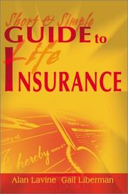 Cover of: Short & Simple Guide to Life Insurance