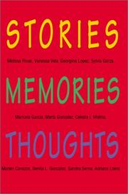 Cover of: Stories Memories Thoughts