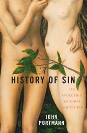 Cover of: A history of sin