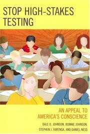 Cover of: Stop High-Stakes Testing