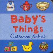 Cover of: Baby's Things (Chunky Board Books)