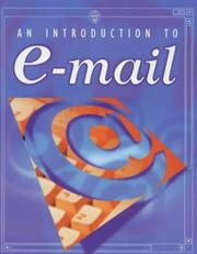 Cover of: An Introduction to E-mail (Usborne Computer Guides)