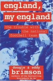 Cover of: England, My England