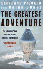 Cover of: The Greatest Adventure