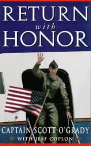 Cover of: Return with Honour