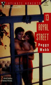 Cover of: 13 Royal Street (Silhoutte Intimate Moments No. 447)