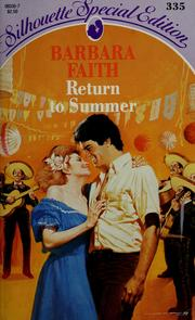 Cover of: Return to summer