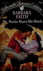 Cover of: Mr. Macho Meets His Match