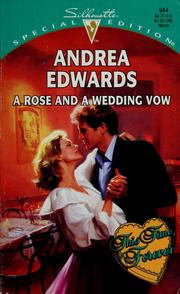 Cover of: Rose And A Wedding Vow (This Time, Forever)