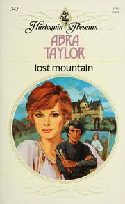 Cover of: Lost mountain