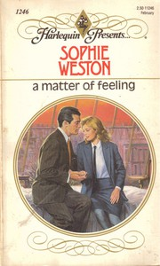 Cover of: A matter of feeling