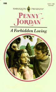 Cover of: A Forbidden Loving