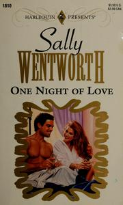 Cover of: One Night Of Love