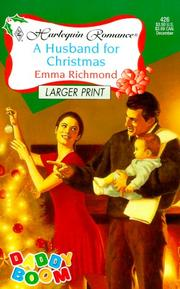 Cover of: Husband For Christmas (Daddy Boom ) - Larger Print (Harlequin Large Print (Numbered Paperback))