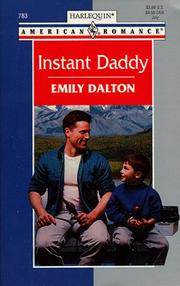 Cover of: Instant Daddy (Harlequin American Romance, 783)