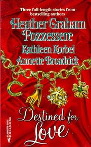 Cover of: Destined For Love  (By Request 3)