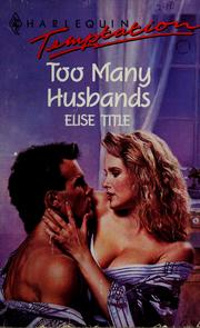 Cover of: Too Many Husbands