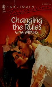 Cover of: Changing The Rules