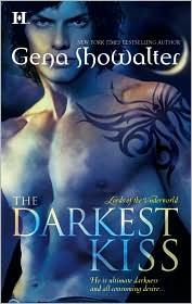 Cover of: The Darkest Kiss (Lords of the Underworld, Book 2)