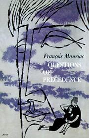 Cover of: Questions of Precedence: (Préséances)