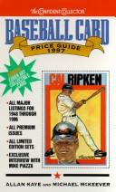 Cover of: Baseball Card Price Guide, 1997