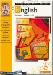 Cover of: English (Blueprints)