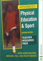 Cover of: Advanced Physical Education & Sport
