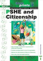 Cover of: PSHE and Citizenship (Blueprints)