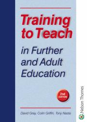 Cover of: Training to Teach in Further & Adult Education