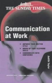 Cover of: Communication at Work (Creating Success)