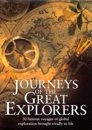 Cover of: Journeys of the Great Explorers