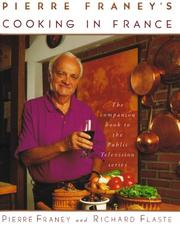 Cover of: Pierre Franey's cooking in France