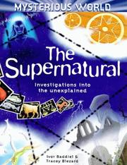 Cover of: The Supernatural (Mysterious World)