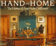 Cover of: Hand and home