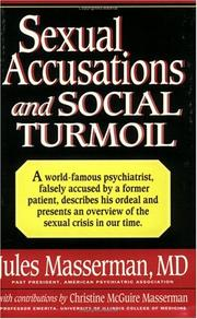 Cover of: Sexual accusations and social turmoil