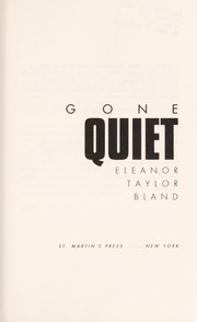 Cover of: Gone quiet