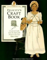Cover of: Felicity's craft book