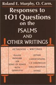 Cover of: Responses to 101 questions on the Psalms and other writings