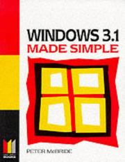 Cover of: Windows 3.1 Made Simple (Made Simple Computer)
