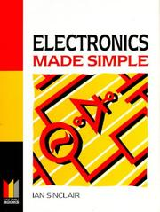 Cover of: Electronics Made Simple
