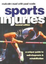 Cover of: Sport Injuries