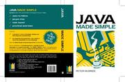 Cover of: Java Programming Made Simple (Made Simple Computer)