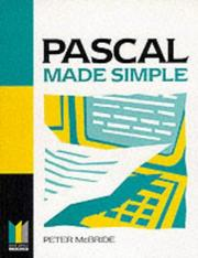 Cover of: Pascal Made Simple (Made Simple Computer)